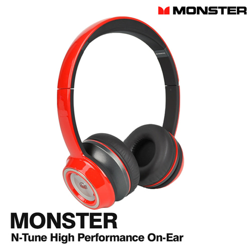 몬스터 N-Tune High Performance On-Ear 유선 헤드폰